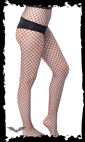 Fish-Net stockings with big net