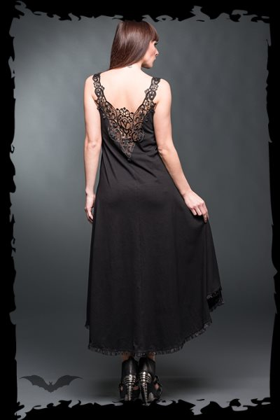 Long Dress with lace on the back