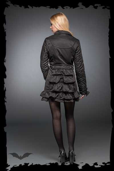 Black Jacket with Frills