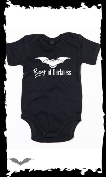 Black Baby bodysuit -Boy of Darkness-