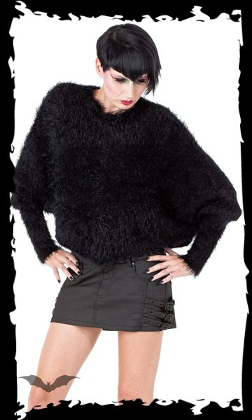 Fluffy Batwing Jumper