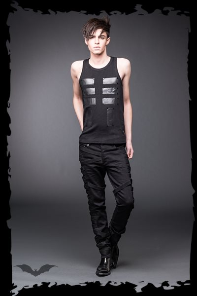 Tank Top with shiny Rectangles