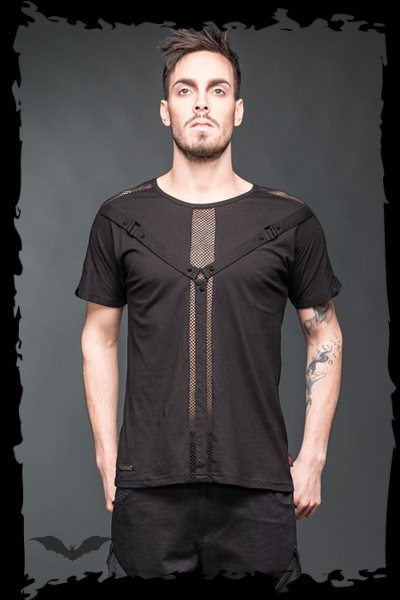 Bondageshirt with removable net-sleeves