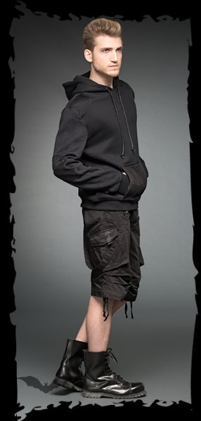 Hoodie with big front pocket