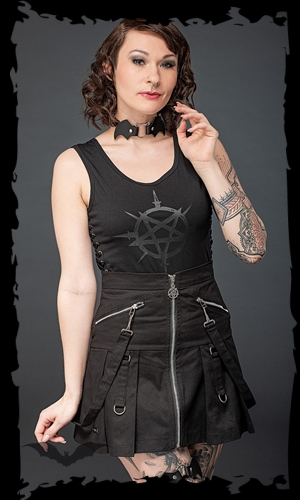 Queen of Darkness Gothic-Fashion B2B Wholesale-Shop | Gothic Fashion & Gothic Accessoires | Gothic Skirt for Women