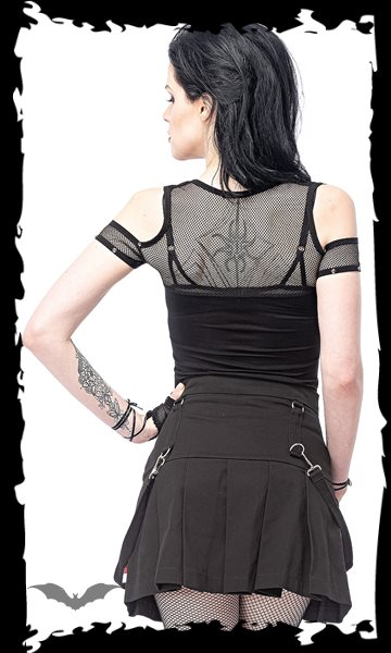 High Waist skirt with removable bondage
