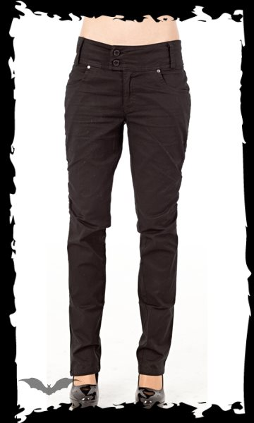 Classic long black Trousers