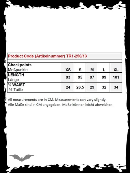 Black leggings with lacing and bows prin