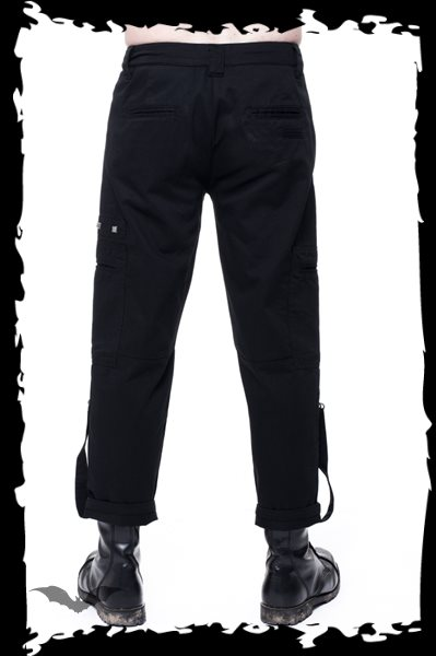 3/4 Trousers with detachable Bondage Str